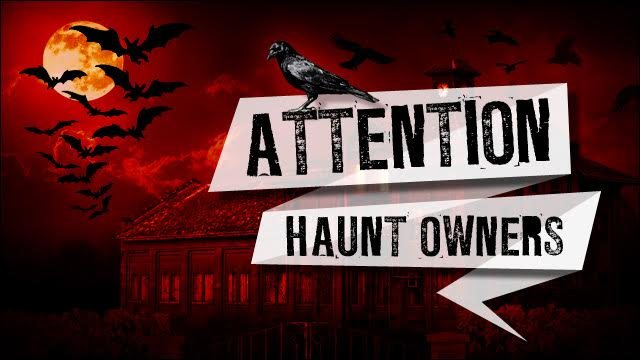 Attention Hartford Haunt Owners